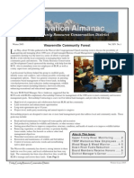 Winter 2005 Conservation Almanac Newsletter, Trinity County Resource Conservation District