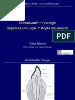 Vortrag Oralchirurgie Und Septische Chirurgie TU