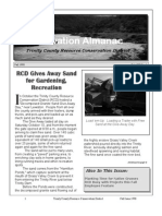 Fall 1998 Conservation Almanac Newsletter, Trinity County Resource Conservation District