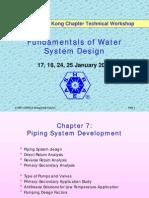 PPT-ASHRAE Hong Kong-Fundamentals of Water Systme Design