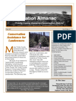 Fall 1997 Conservation Almanac Newsletter, Trinity County Resource Conservation District