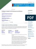 Configurar Roteador D-Link DI-524 Para Rede Wireless