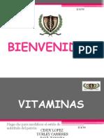 exposicion de vitaminas