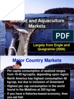 Seafood and Aquaculture Markets