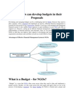 How NGOs Can Develop Budgets in Their Proposals