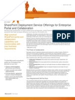 Enterprise Portal and Collaboration Datasheet