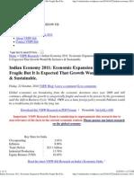 Indian Economy 2011