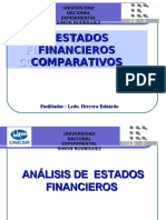 ESTADO FINANCIEROS COMPARATIVO