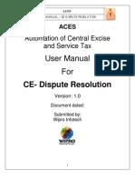 Aces User Manual Ce Dsr 1.0
