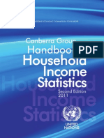 Canberra Group Handbook on Household Income Statistics