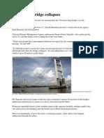 Indonesian Bridge Collapses