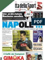 Gazzetta dello Sport - 08/12/2011