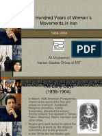 Women Movements in Iran