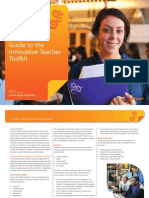 Guide to the Innovative Teacher Toolkit