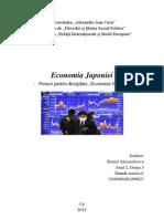 Economie International A - Economia Japoniei- Proiect