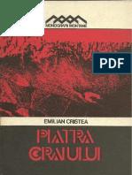 Emilian Cristea - Piatra Craiului, Monografie (1982)