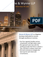 Wynne and Wynne LLP - Attorneys At Law Houston TX