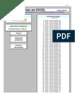 Sistema de Sorteios Excel