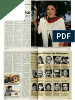 Rajiv Gandhi Swiss Bank Accounts allegation - Schweizer Illustrierte, 11 November, 1991