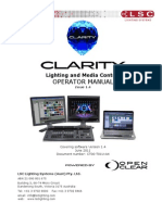 LSC Clarity Operation Manual