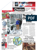 Weekly Choice - December 08, 2011