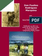 DON PAULINO RODRIGUEZ MARQUINA por Sara Peña de Bascary