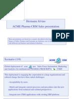 Methodology for CRM Commercial Pre-Presales Presentation