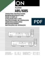 DenonDCD-485~685 CDplayer