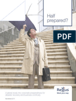 Half Prepared?:Business Survey on Disaster Recovery