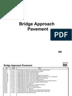 Drawing of Bridge Approach