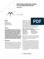 Agilent App Note Volatile Sulfur in NGA-RGA