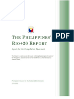 365The Philippines Rio20 Report_Inputs for Compilation Document
