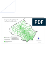 Montgomery County, Maryland Community Analysis Zones * d Fre