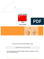 China Culture Briefing Free Version v1.1