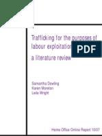 Report on Human Trafficking