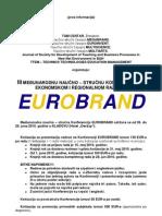 EUROBRAND - prva informacija