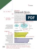 """Korrektur der PR-Broschüre """"Viavision"""" von Volkswagen"""