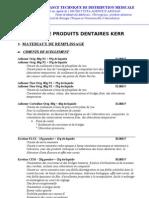 Catalogue Dentaire