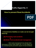 Road Traffic Digest No. 9