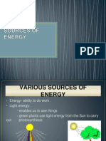 Sources of Energy f1