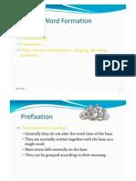English Word Formation