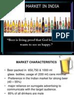 Beer Market in India Final