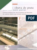Alguns processos de fabricação de espelhos