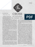 Cross as Curriculum for Catholic Unity
