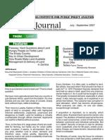 ZIPPA Journal 3rd Quarter 2007