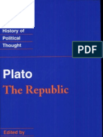 Plato the Republic Cambridge Texts in the History of Political Thought