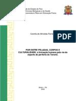 TCC - Por entre peladas, corpos e culturalidade  - A formação humana pela via do esporte de periferia do Tenoné
