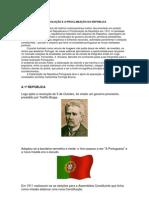 A REVOLUÇÃO E A PROCLAMAÇÃO DA REPÚBLICA