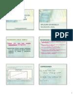 8. Análisis de datos - Regresión y gráficos