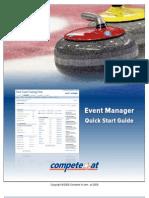 Online Registration Quick Start Guide - Curling Bonspiels
